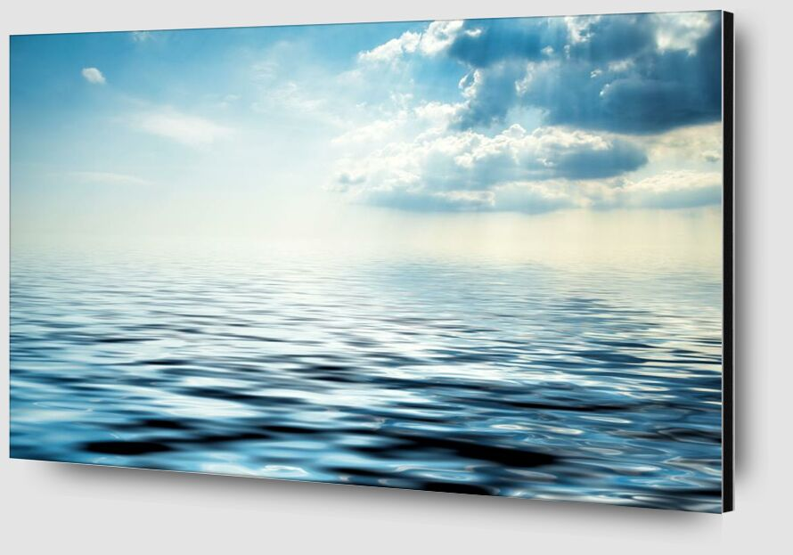 Le reflet des nuages from Aliss ART Zoom Alu Dibond Image