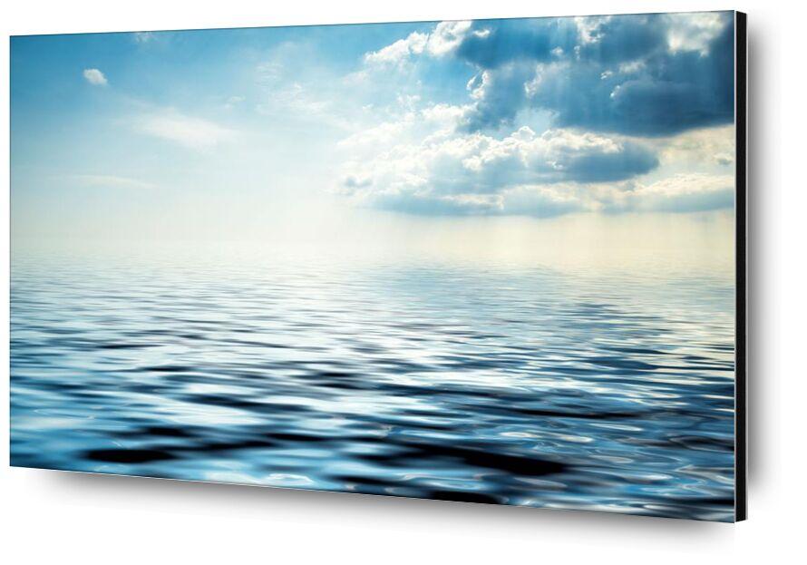 Le reflet des nuages from Aliss ART, Prodi Art, beach, clouds, light, ocean, outdoors, sea, seascape, sky, summer, Sun, water, wave