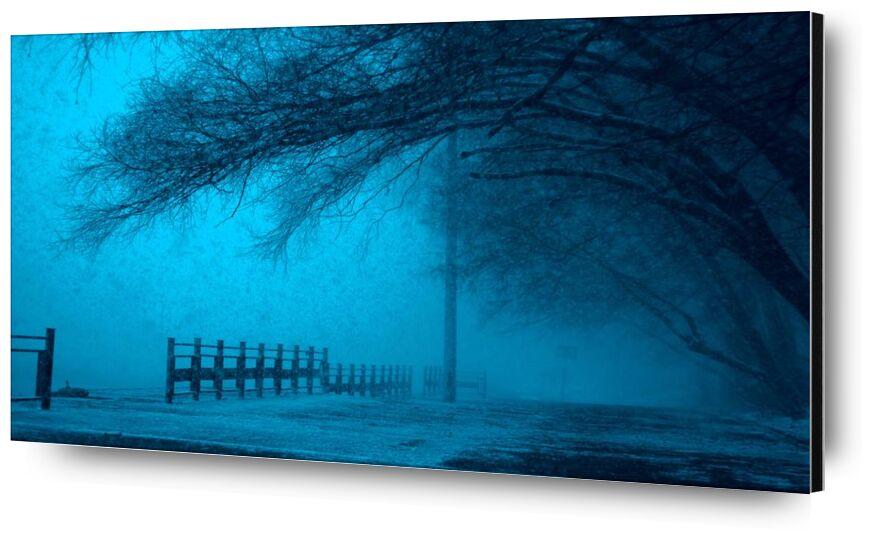 Brouillard from Aliss ART, Prodi Art, cold, dark, fog, frozen, ice, lake, landscape, outdoors, reflection, scenic, snow, street, trees, weather, winter, eerie, fear, fence, foggy, mystery, pathway, pole, road