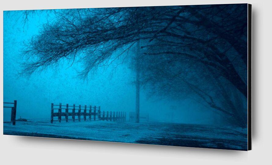 Brouillard de Aliss ART Zoom Alu Dibond Image