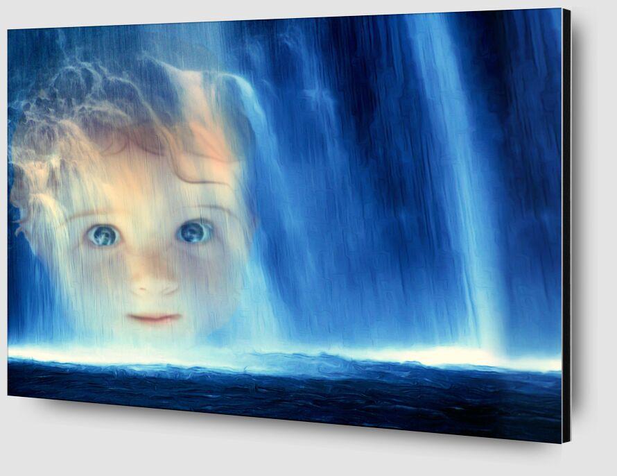 La cascade de Adam da Silva Zoom Alu Dibond Image