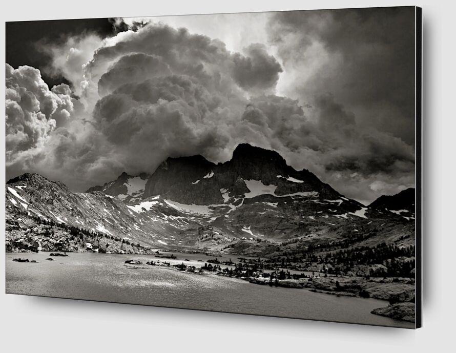 Garnet Lake, California, ANSEL ADAMS from AUX BEAUX-ARTS Zoom Alu Dibond Image