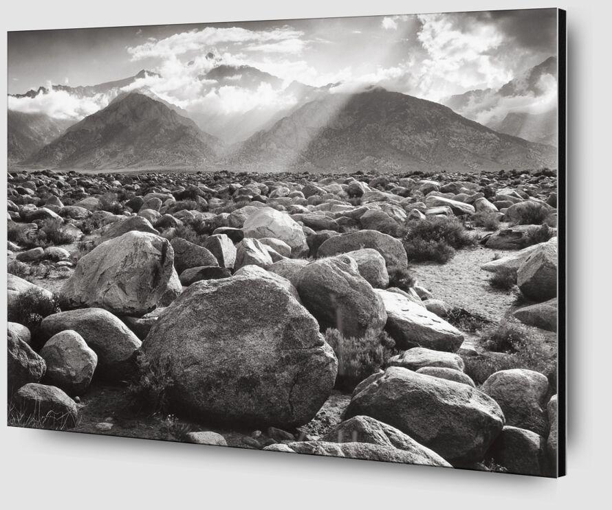 Williamson, ANSEL ADAMS from AUX BEAUX-ARTS Zoom Alu Dibond Image