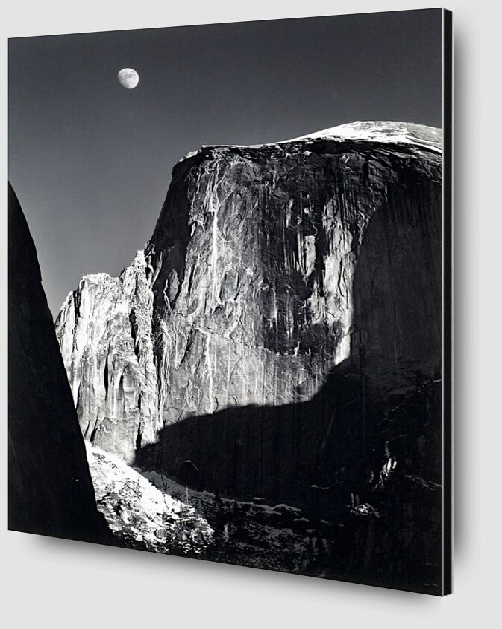 Yosemite national park,  California, ANSEL ADAMS - 1960 from AUX BEAUX-ARTS Zoom Alu Dibond Image