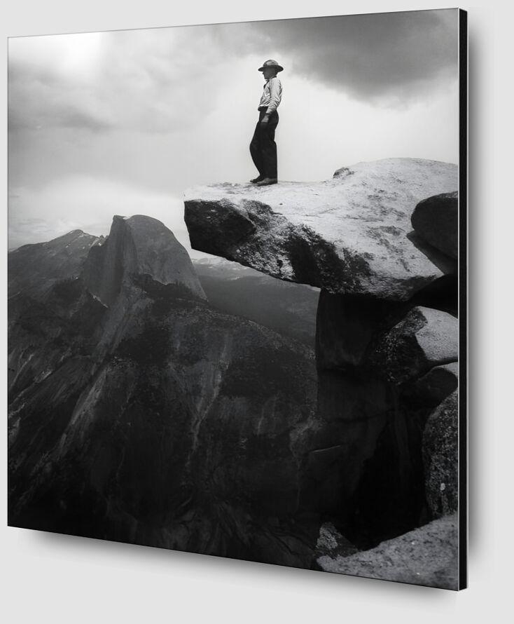 Yosemite, the cowboy - ANSEL ADAMS - 1948 desde AUX BEAUX-ARTS Zoom Alu Dibond Image