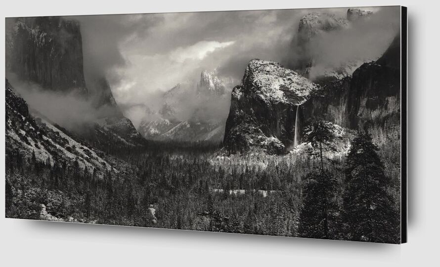 Yosemite, United States - ANSEL ADAMS 1952 from Aux Beaux-Arts Zoom Alu Dibond Image