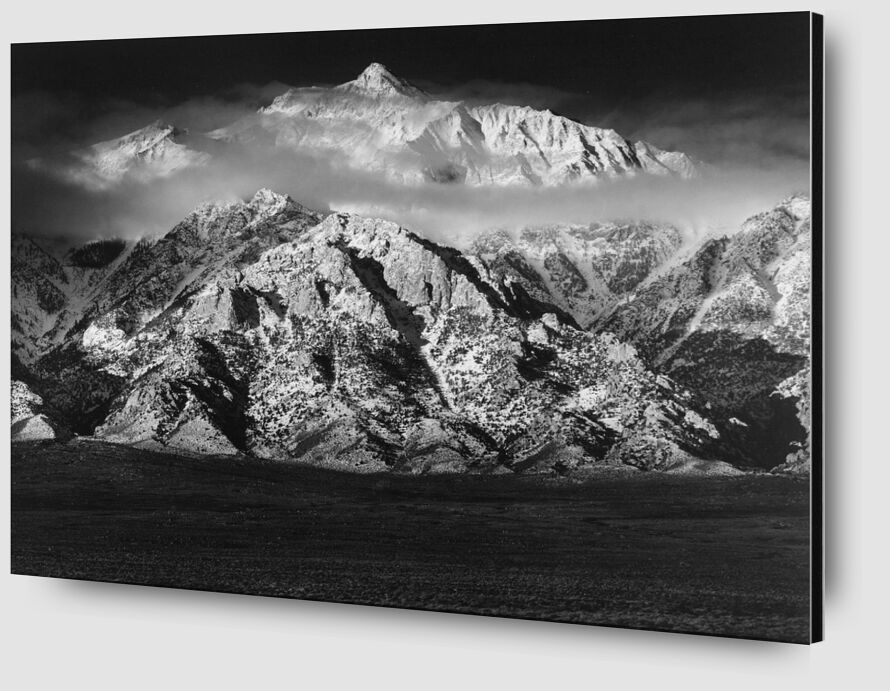Mountain Williamson, Sierra Nevada - ANSEL ADAMS 1949 from Aux Beaux-Arts Zoom Alu Dibond Image