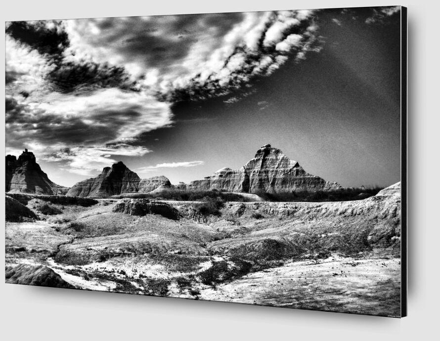 Sierra nevada, ANSEL ADAMS 1943 from AUX BEAUX-ARTS Zoom Alu Dibond Image