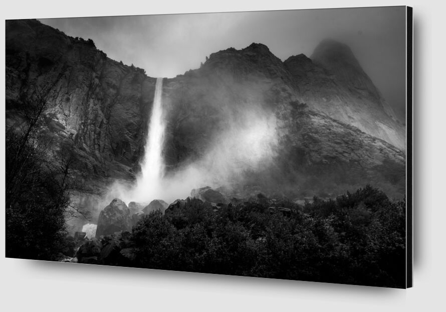 The fountain, New Mexico, ANSEL ADAMS 1956 from Aux Beaux-Arts Zoom Alu Dibond Image