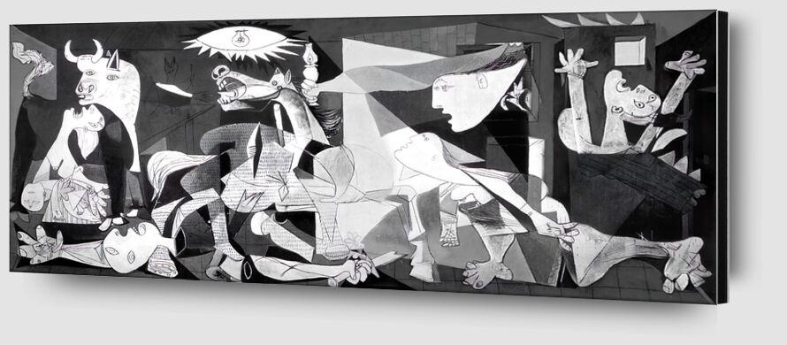 Guernica - PABLO PICASSO from AUX BEAUX-ARTS Zoom Alu Dibond Image