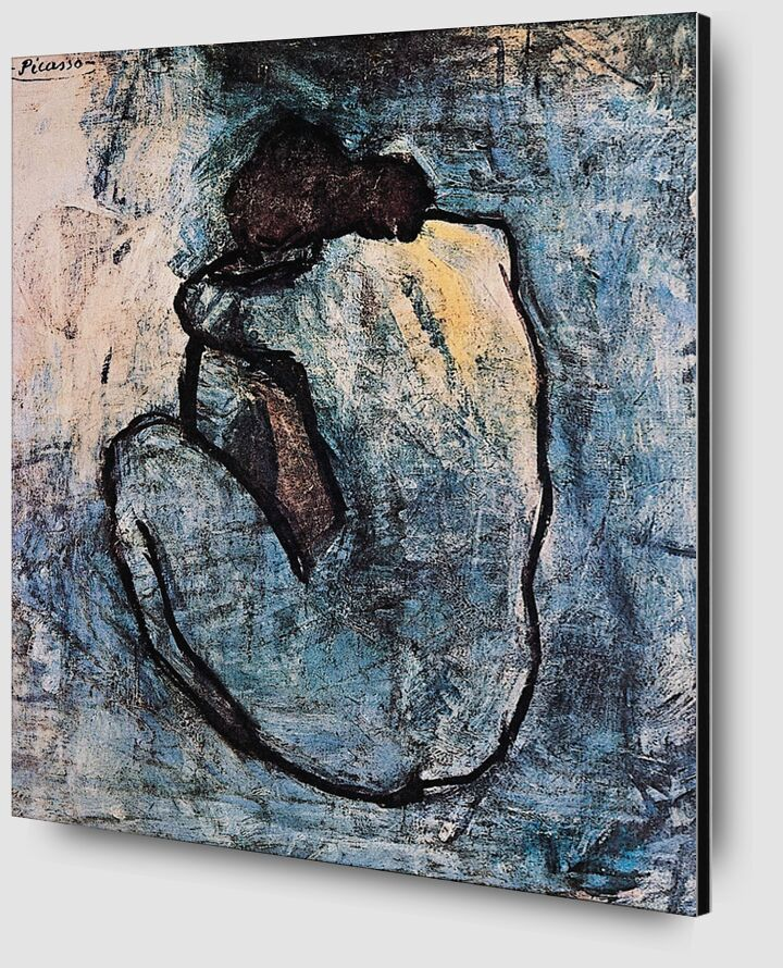 Blue nude - PABLO PICASSO from AUX BEAUX-ARTS Zoom Alu Dibond Image