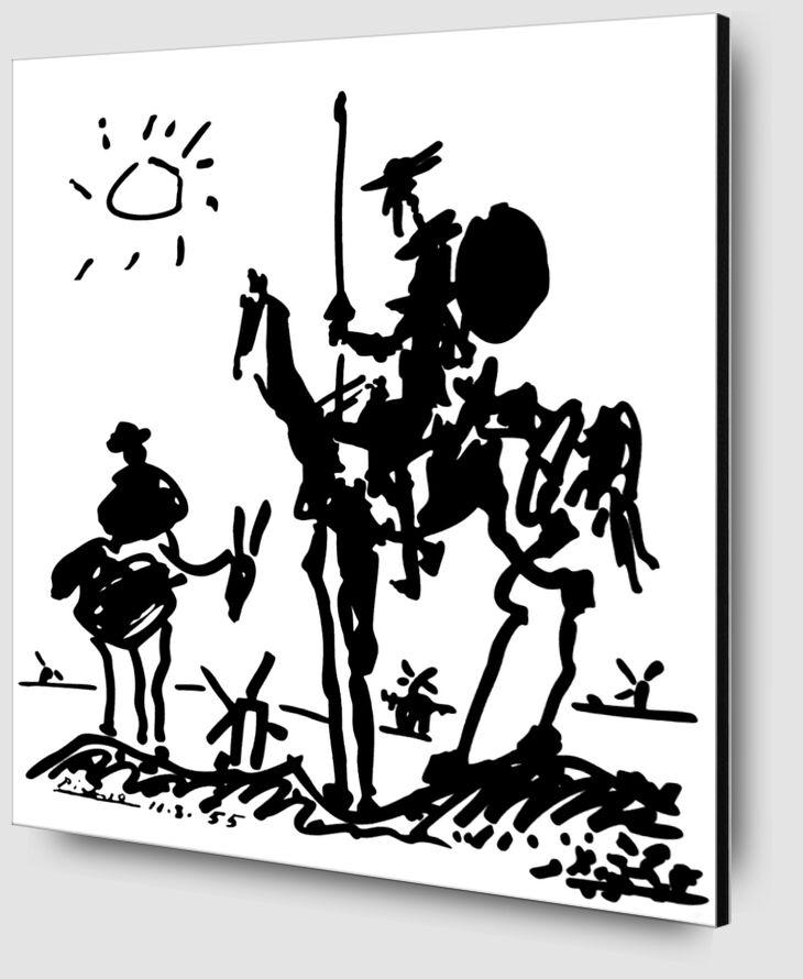 Don Quichotte - PABLO PICASSO de AUX BEAUX-ARTS Zoom Alu Dibond Image