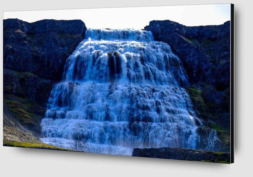 Cascade de Aliss ART Zoom Alu Dibond Image
