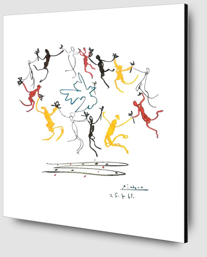 The dance of youth - PABLO PICASSO from AUX BEAUX-ARTS Zoom Alu Dibond Image