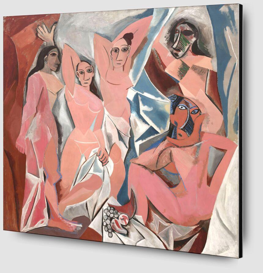 Les Demoiselles d'Avignon - PABLO PICASSO de Aux Beaux-Arts Zoom Alu Dibond Image