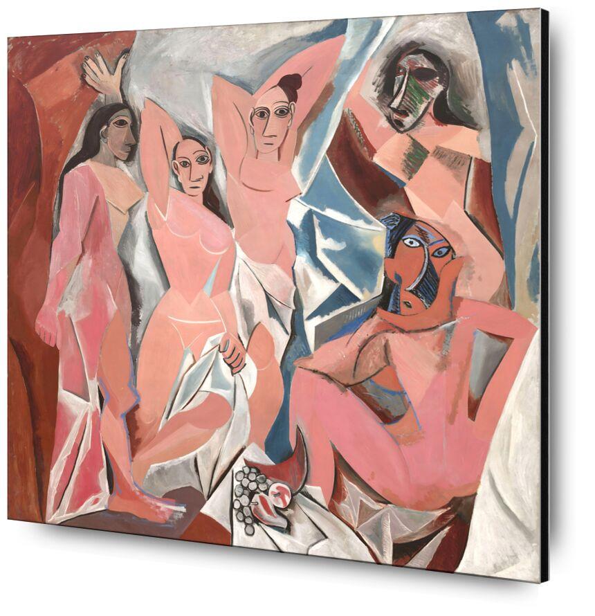 The Ladies Of Avignon Pablo Picasso Aluminum Mounting By Aux Beaux Arts