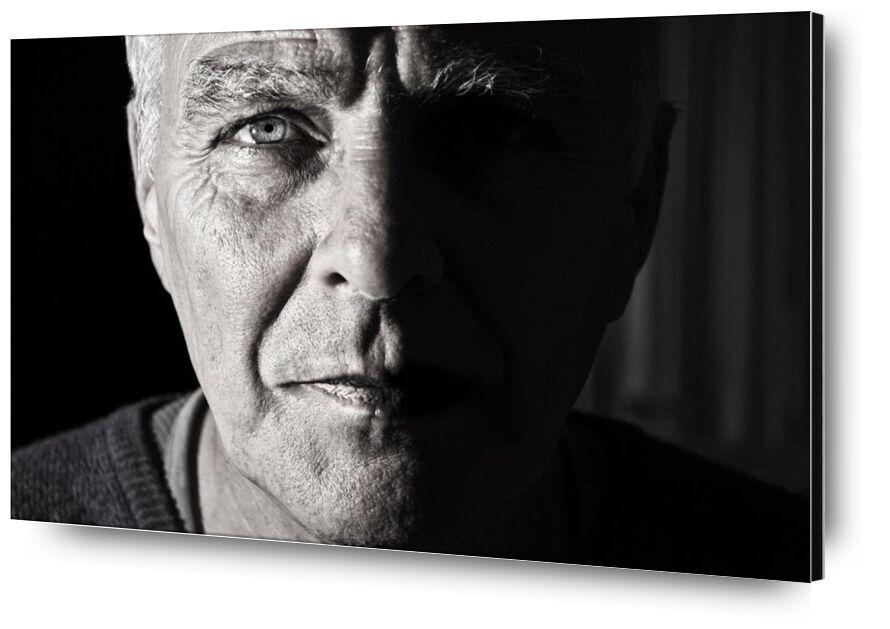 الوقت المحدد from Aliss ART, Prodi Art, wrinkles, grandparent, grandpa, elderly, elder, crinkles, portrait, old, man, black-and-white