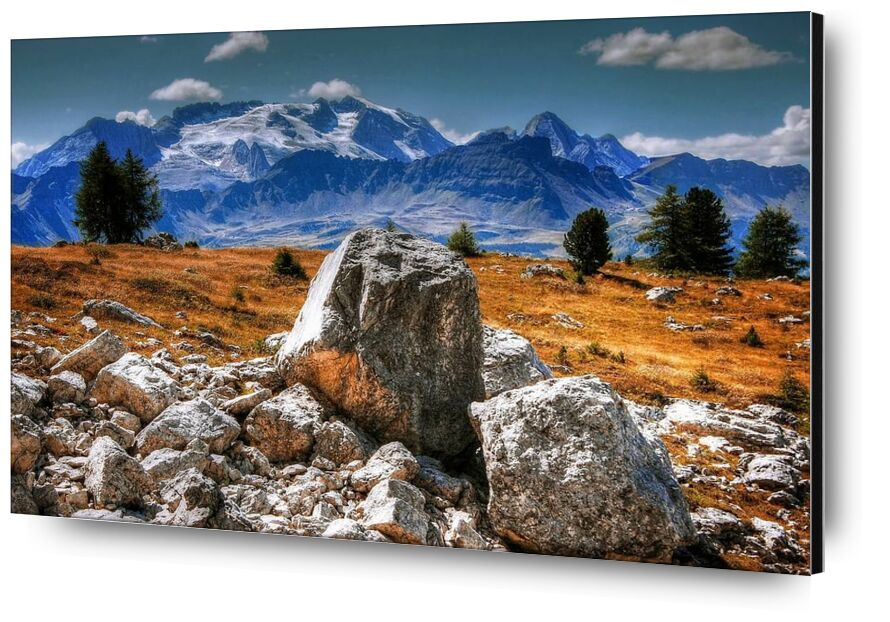 Aventure from Aliss ART, Prodi Art, adventure, clouds, daylight, grass, hike, landscape, mountain, nature, outdoors, rocks, scenic, sky, travel, trees, valley, view, boulders, hdr, mountain peak