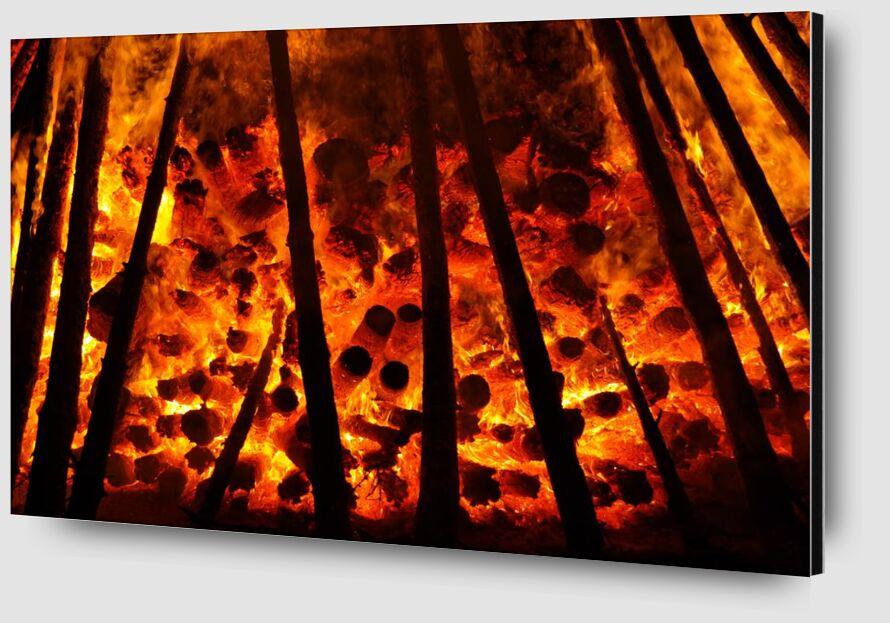 Flamme from Aliss ART Zoom Alu Dibond Image