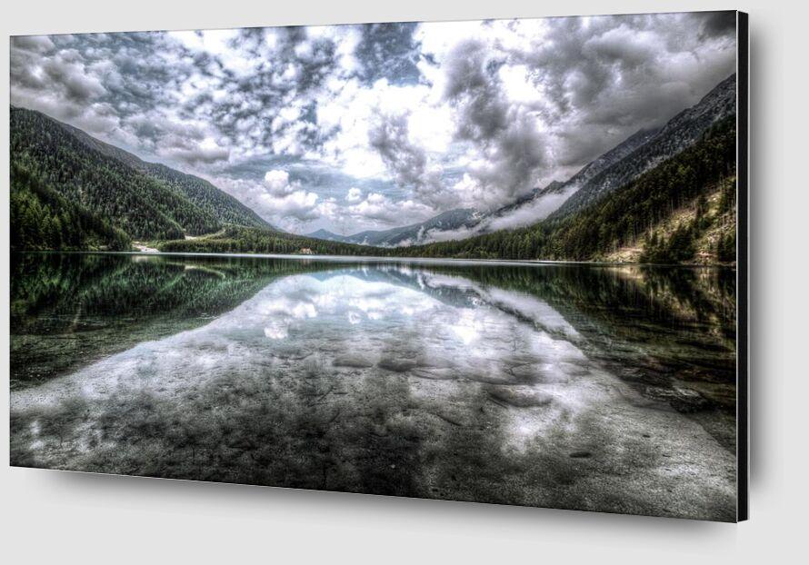 Reflection from Aliss ART Zoom Alu Dibond Image