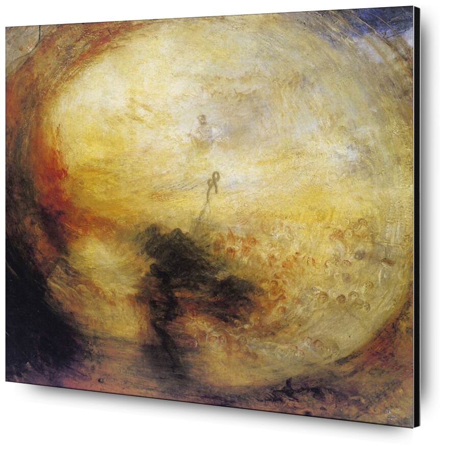 The Morning after the Deluge - WILLIAM TURNER 1843 from Aux Beaux-Arts, Prodi Art, Last judgement, revelation, apocalypse, living, soul, downpour, death, storm, God, WILLIAM TURNER, painting