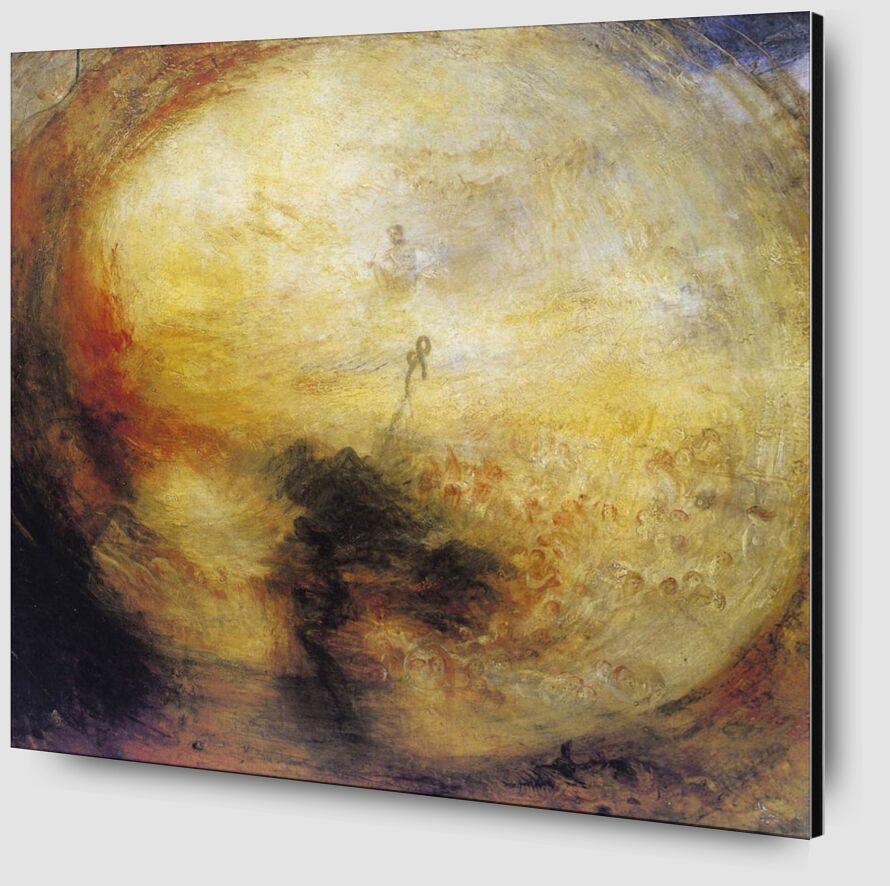 The Morning after the Deluge - WILLIAM TURNER 1843 desde AUX BEAUX-ARTS Zoom Alu Dibond Image
