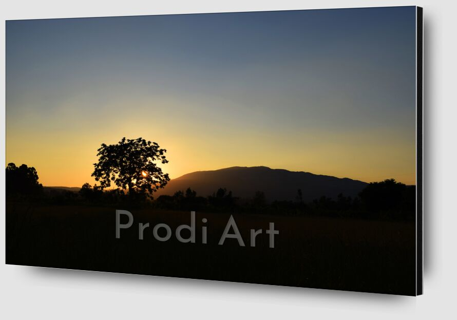 coucher de soleil de ivephotography Zoom Alu Dibond Image
