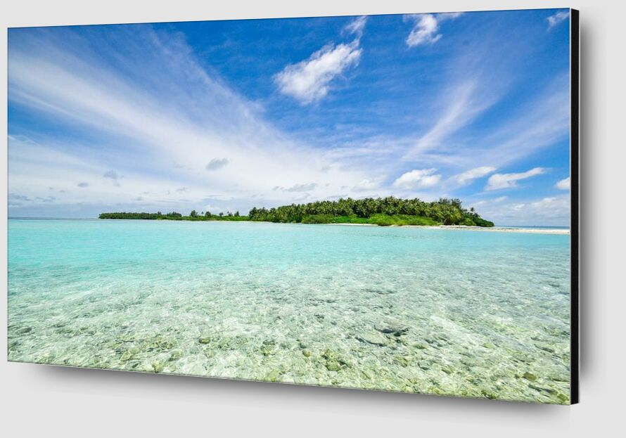 Sur l'île from Aliss ART Zoom Alu Dibond Image