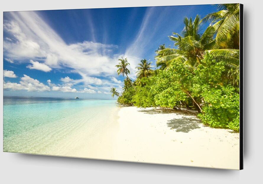 Island from Aliss ART Zoom Alu Dibond Image