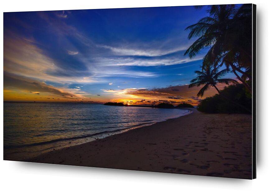 استوائي from Aliss ART, Prodi Art, footsteps, water, tropical, trees, tranquil, sunset, sunrise, sky, silhouette, seashore, sea, scenic, sand, silent, peaceful, palm trees, ocean, nature, idyllic, clouds, calm, beach