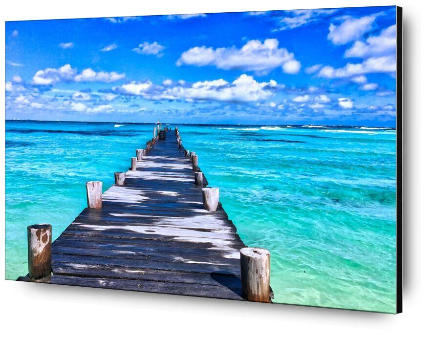 Vers la mer from Aliss ART, Prodi Art, beach, beautiful, bridge, daylight, horizon, island, leisure, luxury, nature, ocean, outdoors, paradise, peaceful, resort, sand, sea, seascape, seashore, summer, tourism, travel, tropical, vacation, water, waves, wood, wooden, carribean, mexico, recreation, relaxation, surf, turquoise, view deck