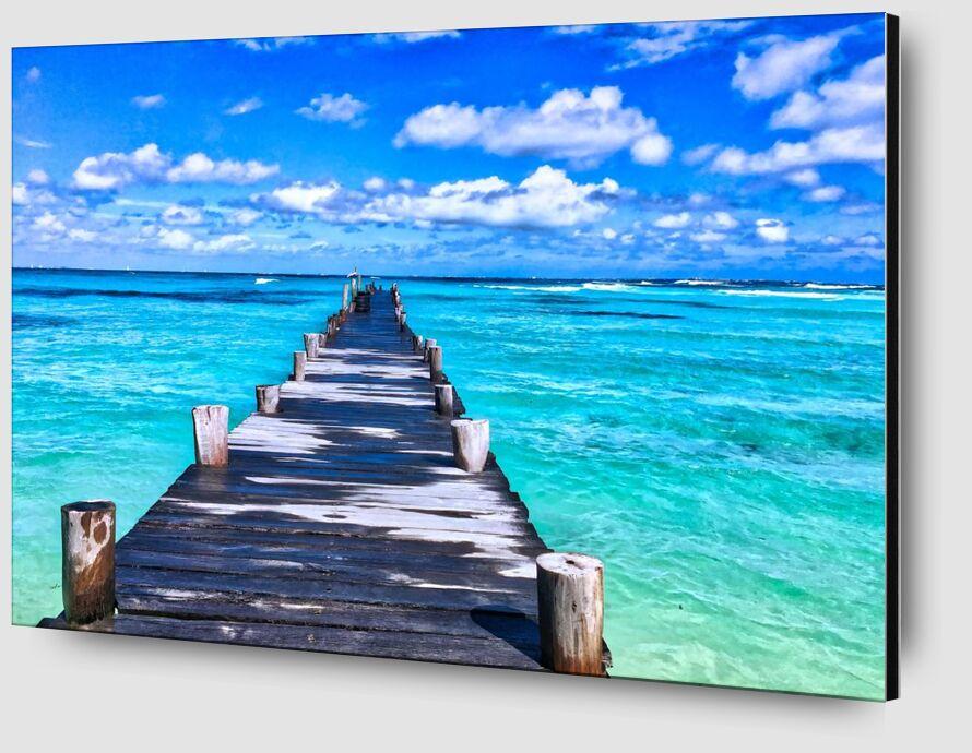 Vers la mer de Aliss ART Zoom Alu Dibond Image