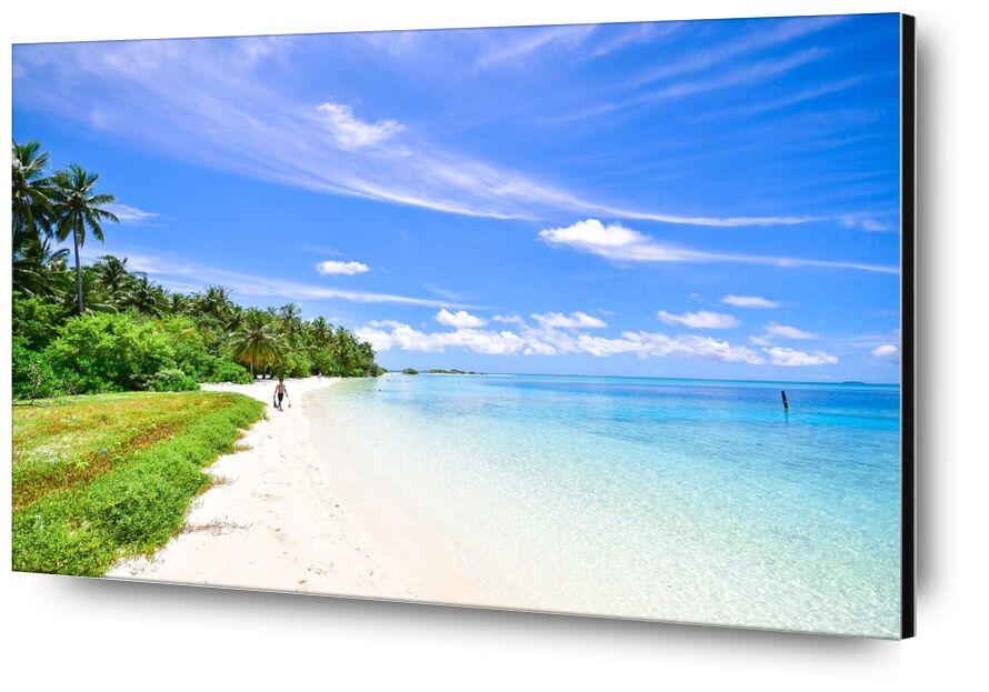 Tranquility from Aliss ART, Prodi Art, beach hut, water, holiday, travel, sunny, sky, shore, seascape, sea, scenic, sand, ocean, side, beach
