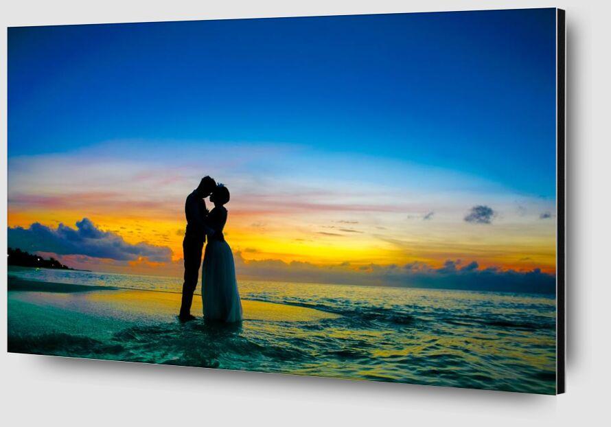 Love from Aliss ART Zoom Alu Dibond Image