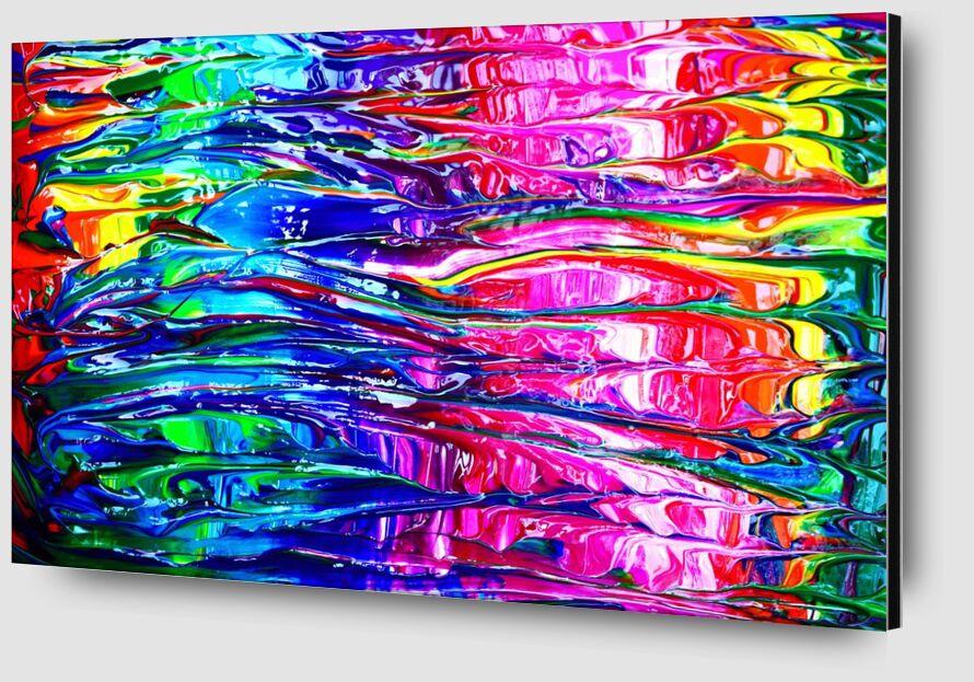 Dream in color from Aliss ART Zoom Alu Dibond Image