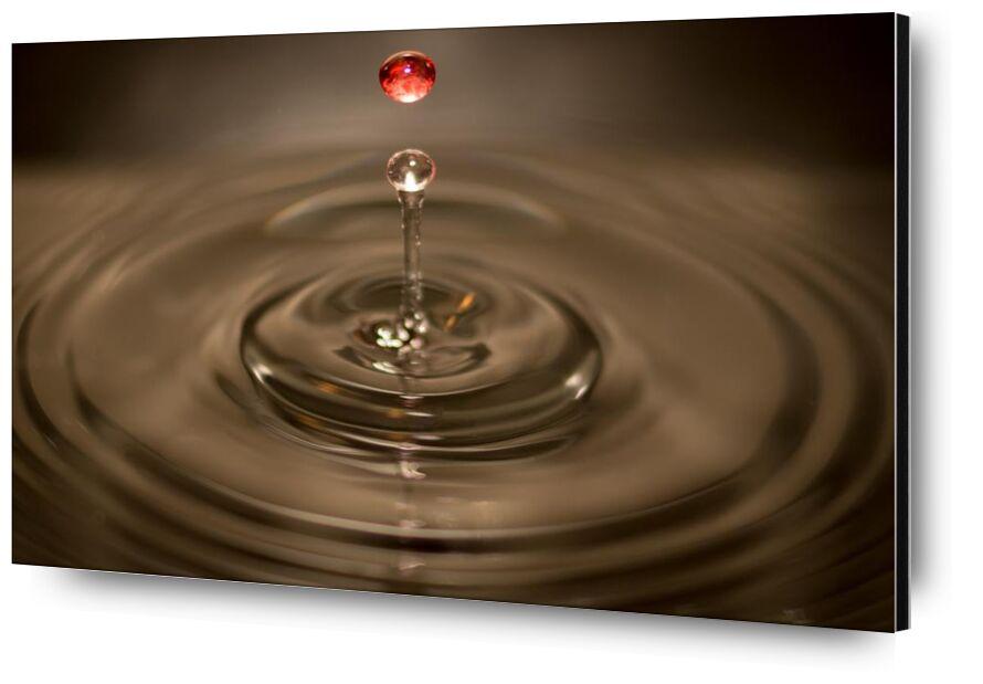Circle from Aliss ART, Prodi Art, surface, ripple, falling, close-up view, close to, circle, waves, splash, macro, liquid, water drop