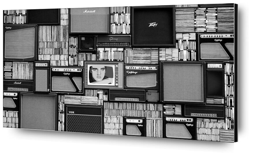 La bibliothèque from Aliss ART, Prodi Art, artist, box, chrome, design, equipment, industry, male, man, modern, monochrome, music, professional, retro, rock, room, studio, style, technology, vintage, wall, acoustic, amplifier, audio, black and-white, bookcase, cd, classic, dynamic, entertainment, icon, instrument, library, media, musician, pop, radio, record, recorder, row, shelf, singer, sound, speaker, tuner, vinyl, volume