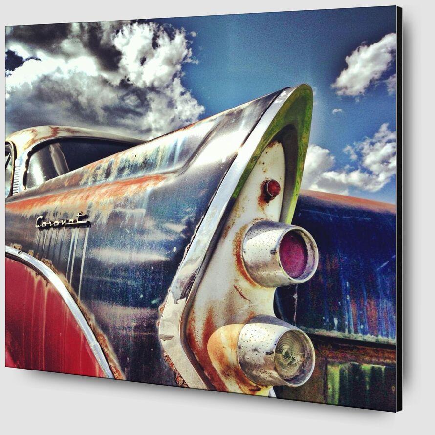Pop car from Aliss ART Zoom Alu Dibond Image