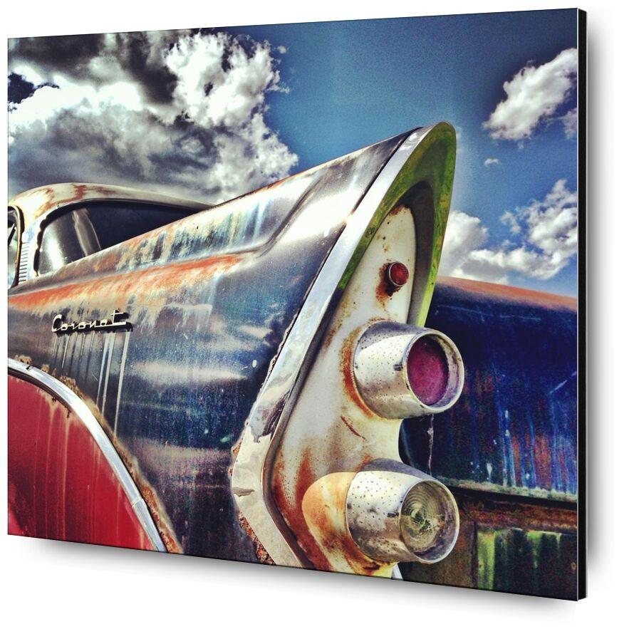 Pop car from Aliss ART, Prodi Art, car, rust, vintage, coronet, oldtimer