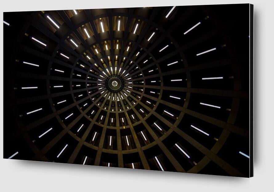 Ray of light from Aliss ART Zoom Alu Dibond Image