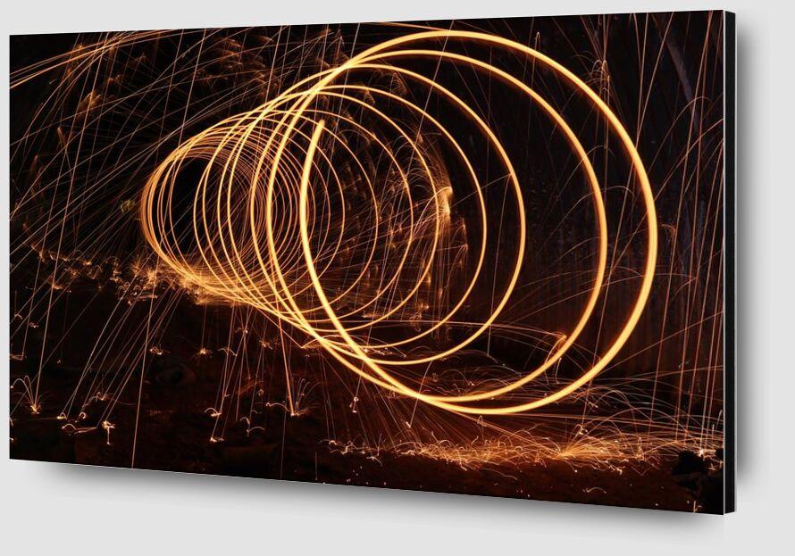 Sparks from Aliss ART Zoom Alu Dibond Image