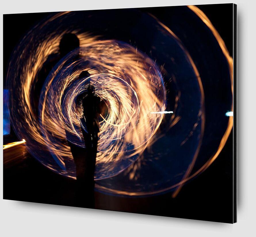 Heat from Aliss ART Zoom Alu Dibond Image