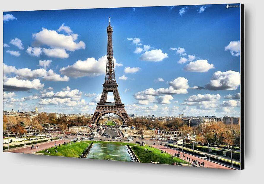 Eiffel Tower from Aliss ART Zoom Alu Dibond Image