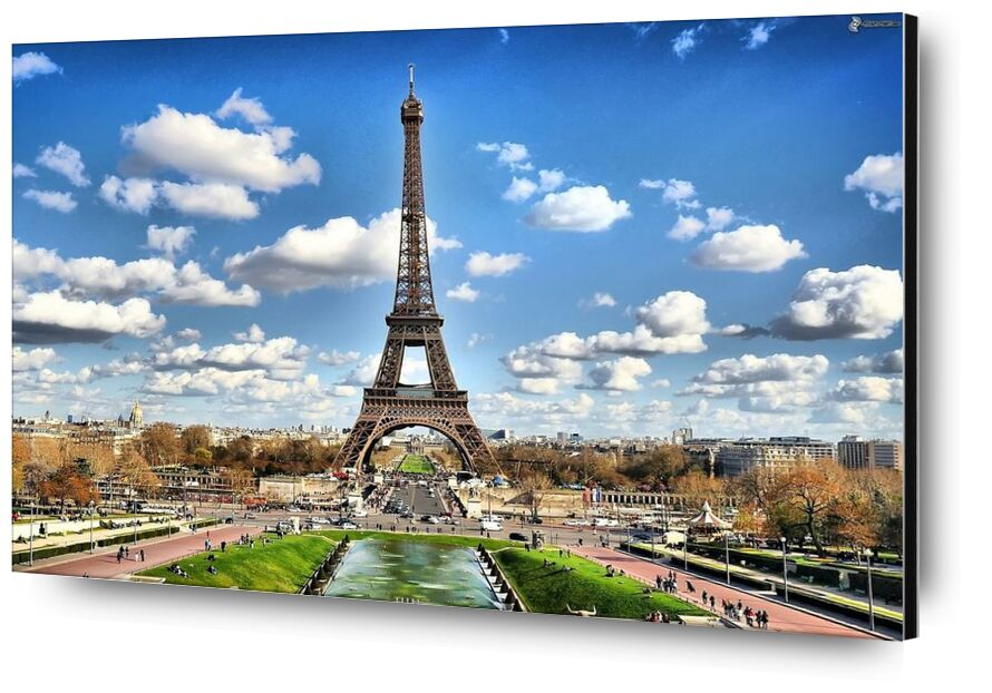 Eiffel Tower from Aliss ART, Prodi Art, city, tower, cityscape, water, view, Urban, trees, travel, tourism, tall, sunset, horizon, sky, River, Paris, outdoors, monument, landmark, historic, Eiffel Tower, clouds, church, buildings, architecture