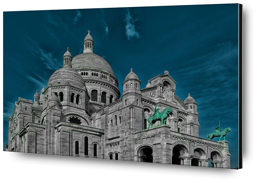 Le coeur de Paris from Aliss ART, Prodi Art, church, France, Paris, Basilica of the Sacred Heart of Paris