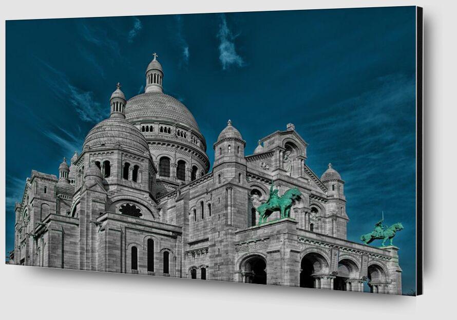 The heart of Paris from Aliss ART Zoom Alu Dibond Image