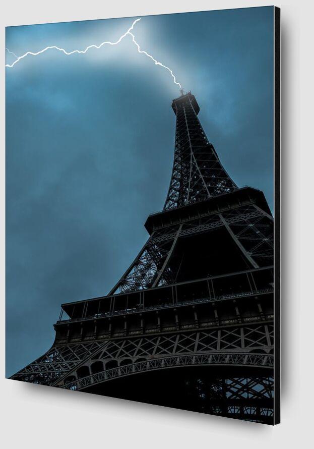 Coup de foudre à Paris de Aliss ART Zoom Alu Dibond Image