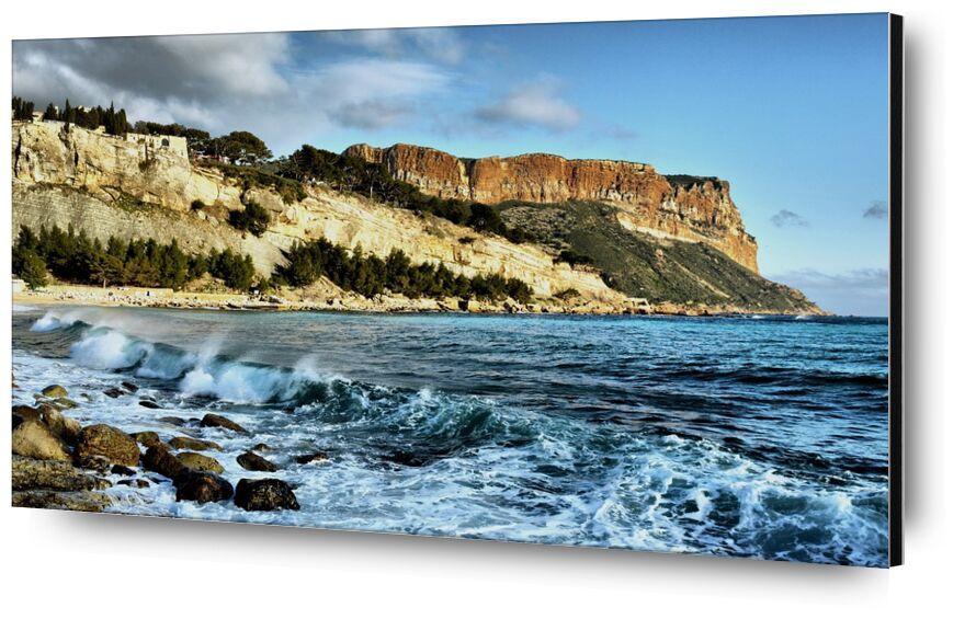 Le Cap Canaille de Frédéric Traversari, Prodi Art, mer, provence, Littoral, Paysages