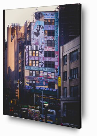 New-York Street de Caro Li, Prodi Art, Photographie d'art, Contrecollage aluminium, Prodi Art