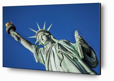 Statut de la liberté de Caro Li, Prodi Art, Photographie d'art, Contrecollage aluminium, Prodi Art